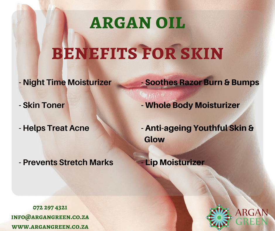 the benefits of argan oil for skin