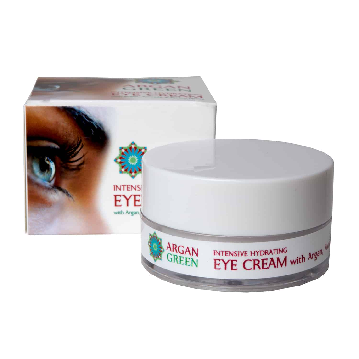 argan green eye cream