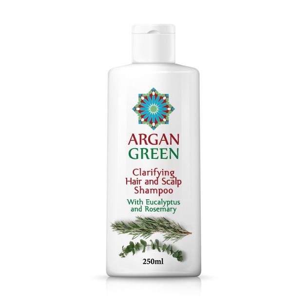 Argan Green Clarifying Shampoo 250ml